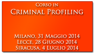 Pulsante Corso Criminal Profiling
