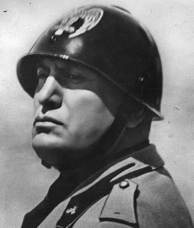 benito mussolinis doctrine of fascism Benito mussolini (1883-1945), the leader of italian fascism, was the son of a   the political and social doctrine of fascism, in /ntuflationrd conciliation no.
