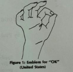 gesto emblematico